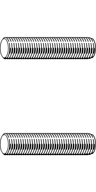 Fabory U22180 075 7200 3 4 10 X 6 Plain B7 Alloy Steel Threaded Rod Ebay Threaded Rods Zinc Plating Stainless Steel Rod