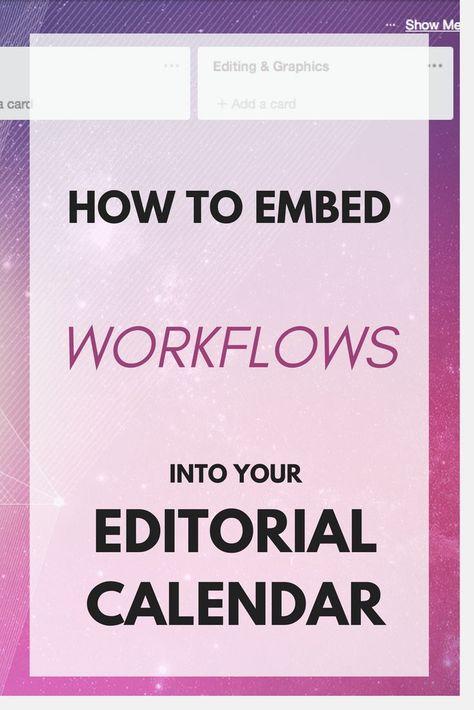 Advanced Editorial Calendar W Workflows In Trello Editorial