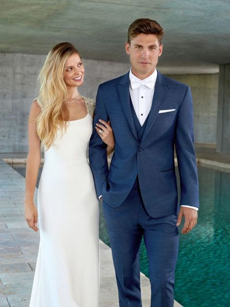 Indigo Blue Lane Ultra Slim Tuxedo Rental | Ted's Clothiers