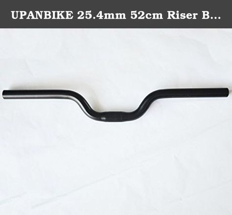Cinelli PEPPER 31.8 Fixie Riser Fixed Gear Bicycle Handlebar BLACK-WHITE 53 CM