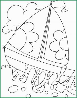 boat coloring pages | Summer coloring pages, Beach coloring pages ... | 382x300