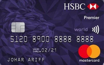 Hsbc Premier World Mastercards Cash Rewards Bank Credit Cards Credit Card