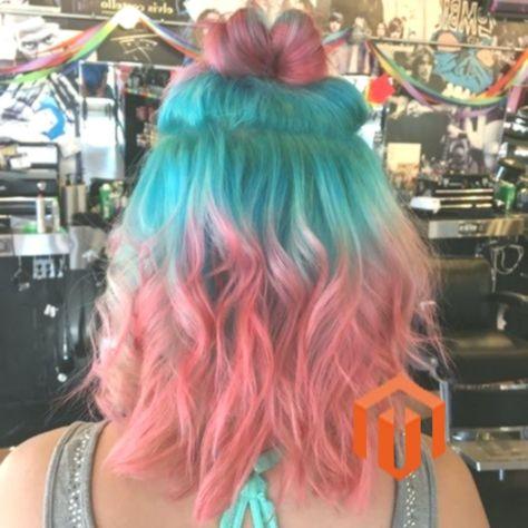 31+ Red dye over teal hair ideas