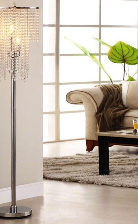 Montage Chandelier Floor Lamp Interieur