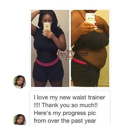 1899f60a8d Get amazing results with the NuTrim Waist Undetectable Trainer! Invisible  under clothing and latex free this body shaper is perfect for a night out  or a ...
