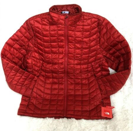 NWT MEN/'S THE NORTH FACE THERMOBALL JACKET PACKABLE INSULATED BLACK Large $199