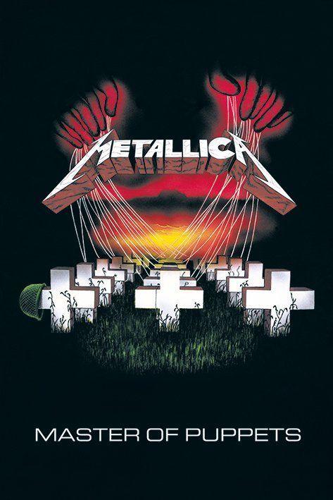 Metallica Master Of Puppets Plakaty W 2019 Plakaty