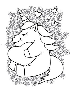20 Free Printable Unicorn Coloring Pages The Artisan Life Unicorn Coloring Pages Heart Coloring Pages Coloring Pages
