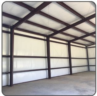 How To Prevent Condensation In Metal Buildings Learn More At Https Www Steelbuildinginsula Metal Building Homes Metal Building Insulation Metal Buildings