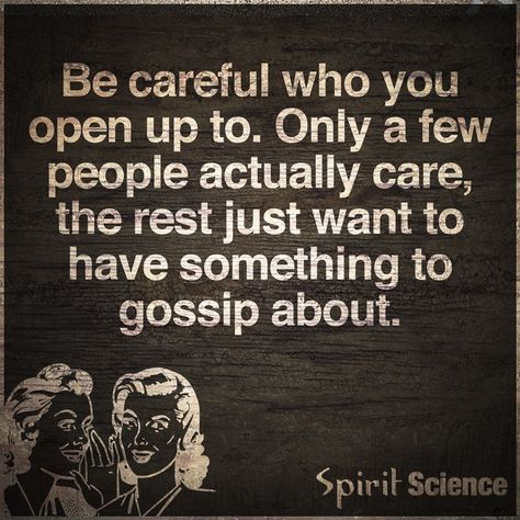 """Truth. Absolute truth. """"They smile in your face / and all the time they want to take your place / the back stabbers..."""" Trust me, they're for real. ~FC"""