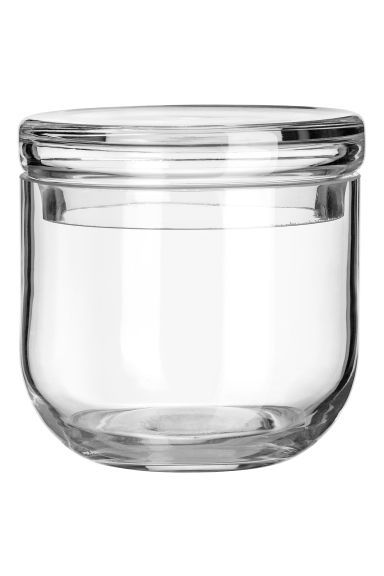 Glass Jar With A Lid Glass Jars With Lids Small Glass Jars Glass Jars
