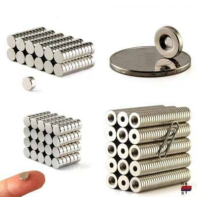 1-100Pcs Strong Round Disc Magnets Rare-Earth Neodymium N35 10*2mm 10*3mm Magnet