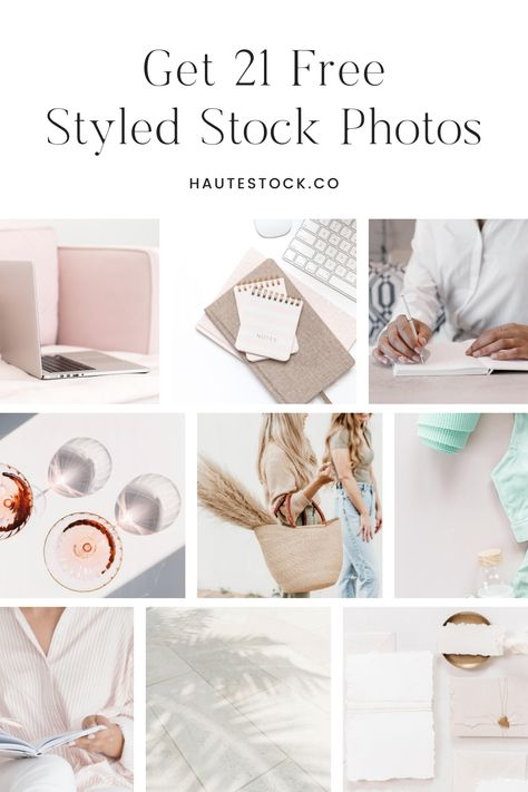 The most beautiful free stock photos for female entrepreneurs are created by Haute Stock, the styled stock photography subsciption for creatives and women business owners. Use the free stock images for Instagram, for social media marketing, to create Pinterest blog post graphics, on your Facebook business page, your website headers and blog post buttons, and so much more! Click to get your free styled stock images from Haute Stock! #styledstockphotography #freestockphotos #socialmediamarketing