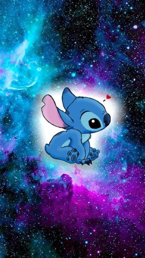 Stitch Out Of Space Galaxy Wallpaper For Your Phone Background Stitchlovers Cartoon Wallpaper Disney Wallpaper Stitch Drawing