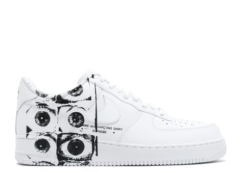 Custom Air Force One CDG PLAY COMMES DES GARCONS HAND
