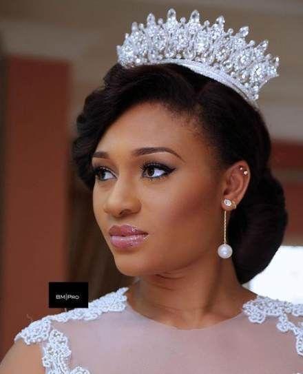 Black Bridal Hairstyles African Americans 59 Super Ideas African Americans Black Brid Bridal Hairstyles African American Bridal Makeup Bridal Hair