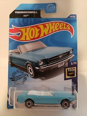 Ad 65 Ford Mustang Convertible 59 Light Blue 5 10 2020 Hot