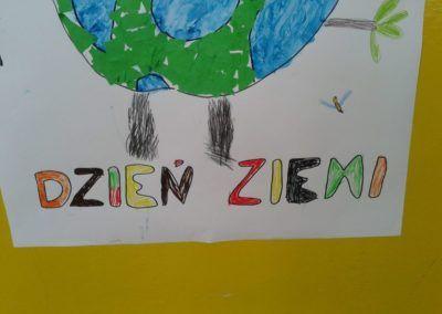 22 Kwietnia Dniem Ziemi Plakat Dzień Ochrony środowiska