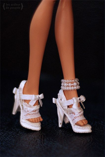 "2018--K-01 Shoes for 16/"" flat foot Ellowyne //Antoinette doll"