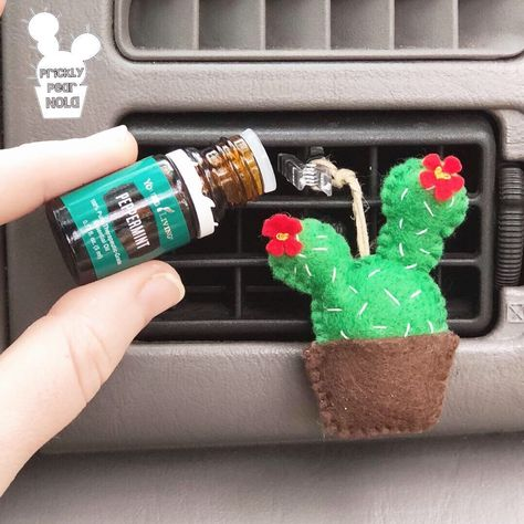 Aromatherapy Essential Oil Cactus Air Vent Car Diffuser, Air Freshener, Essential Oil Diffuser for Car - Diy car air freshener - Hippie Auto, Hippie Car, Car Interior Decor, Car Interior Design, Cute Car Accessories, Car Interior Accessories, Car Freshener, Diy Car Air Fresheners, Car Essentials