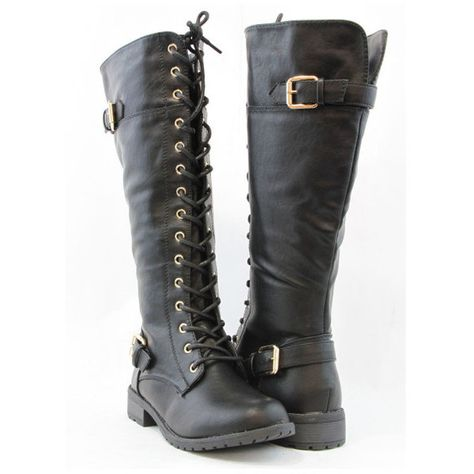 330ae4bea9c Women's Forever Link Women Fashion Knee High Cool Military Combat ...