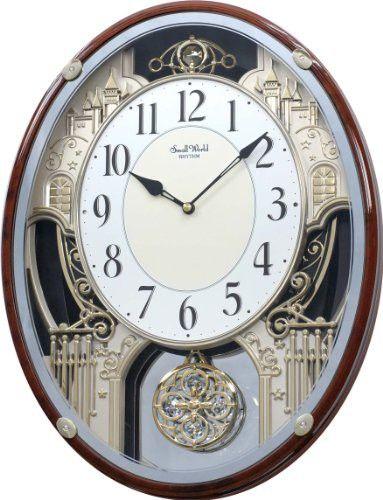 Rhythm Clocks Chateau Musical Motion Clock Rhythm Clocks Clock Wall Clock