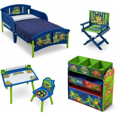 Pin By Laylasloud Preston On My Saves In 2021 Kids Bed Furniture Toddler Bedroom Sets Ninja Turtle Bedroom