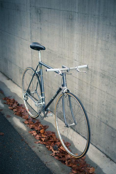 Cilo Road Bike With Flat Bar Fixie Fahrrad Rennrad Peugeot Fahrrad
