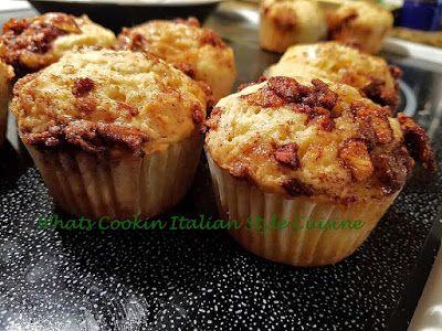 Apple Pie Sour Cream Muffin In 2020 Sour Cream Muffins Apple Recipes Apple Cinnamon Recipes