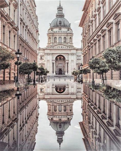 St Stephen Basilica Budapest Photographed by Krenn Imre