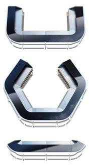 Exceptional Flash Bar Modular System  Sample Shape Formation. The Portable Bar Company .com