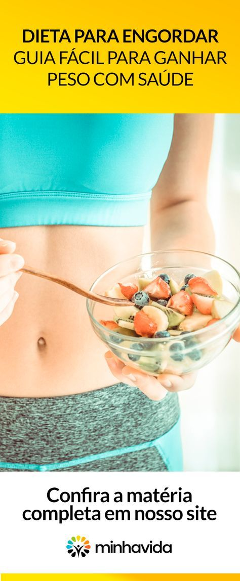 dieta para engordar)