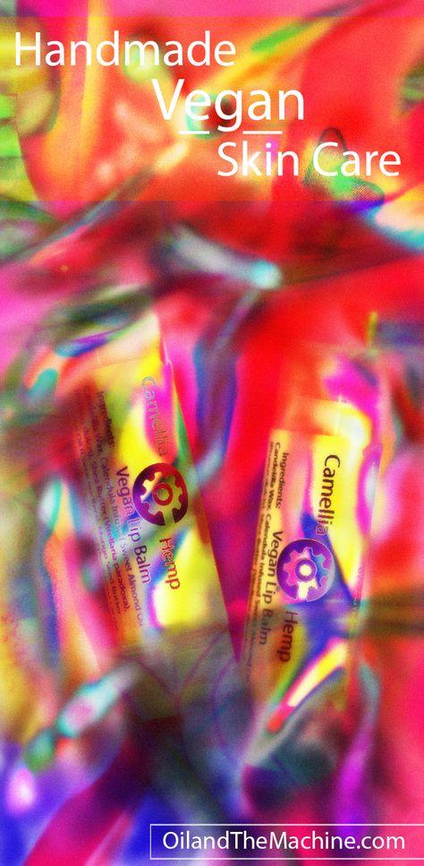 Camellia Hemp Vegan Lip Balm Ingredients: Candelilla Wax ...
