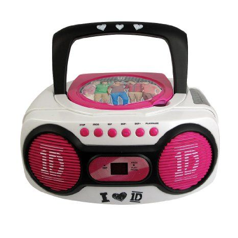 1D One Direction CD Boombox Kids Corner Pinterest Boombox