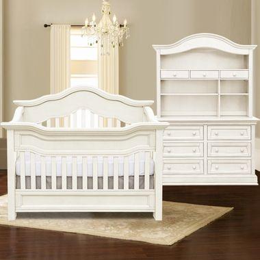 Baby Appleseed Millbury 3 Piece Nursery Set Convertible Crib