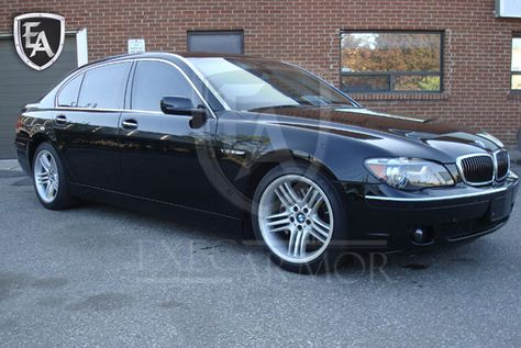 The Armored Bmw 7 Series Is A Very Popular Armored Sedan Commonly