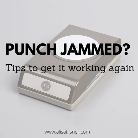 Does your Punch get Jammed? – Alisa Tilsner Tips for getting your jammed punch working again. Card Making Tips, Card Making Tutorials, Card Making Techniques, Making Ideas, Card Tricks, Making Tools, Making Cards, Painting Techniques, Paper Punch Art