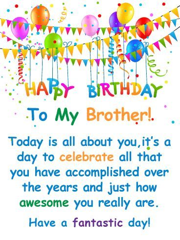 Pin on Birthday Wishes For Brother
