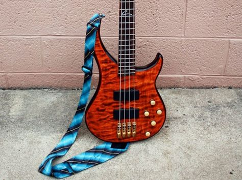 5 Ways to Recycle an Old Necktie Into a Last-Minute Father's Day Gift  Guitar Strap