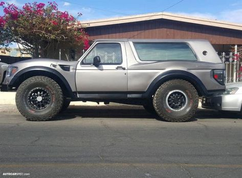 How To Build A Ford Bronco Prerunner Ford Bronco Baja Truck Bronco
