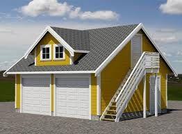 garage med lägenhet