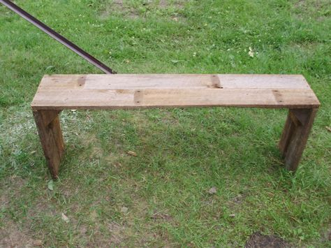 Tremendous Open Style Bench Made From Old Barn Wood Old Barn Wood Creativecarmelina Interior Chair Design Creativecarmelinacom