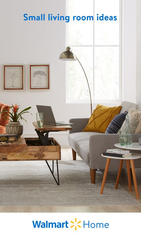 Walmart's multifunctional coffee tables, storage ottomans, and double-duty furniture are designed to maximize small spaces. Shop these high-quality essentials and more—for less. #WalmartHome