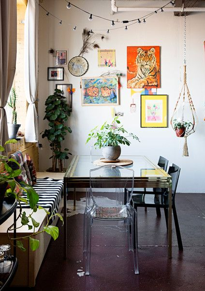 Artful Collection - The Eclectic Maximalist Home Of Nashville's Coolest Fashion Designer - Photos