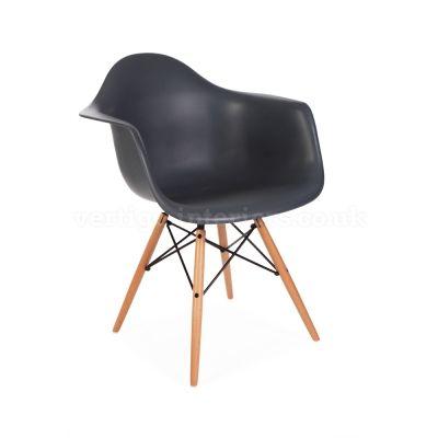 Eames Style DAW Chair - Charcoal Grey | Vertigo Interiors | dining ...