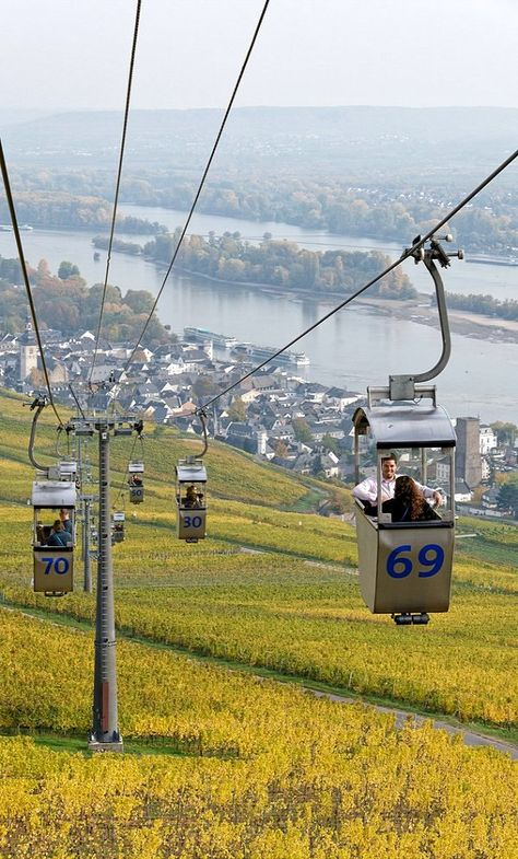 Rüdesheim am Rhein, Rhine Valley, Germany | by Monika Banco