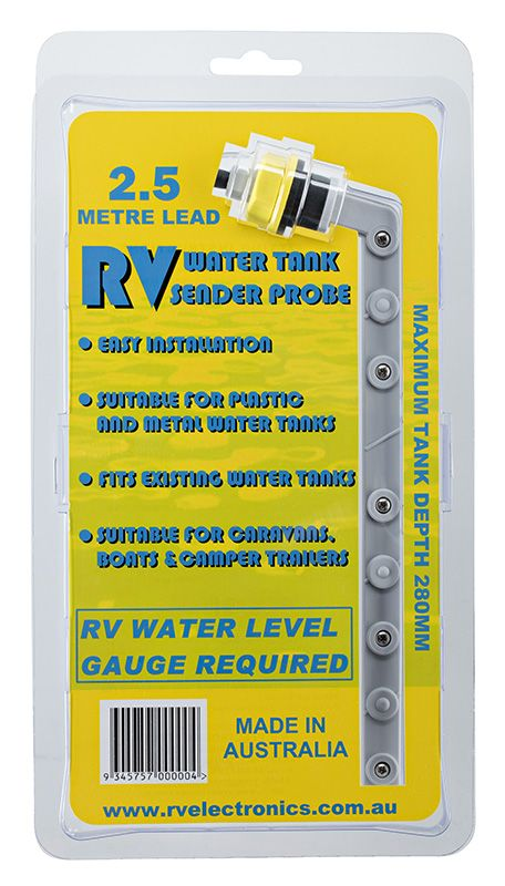 RV Electronics Sender Probe lead 2.5 metre extension cable