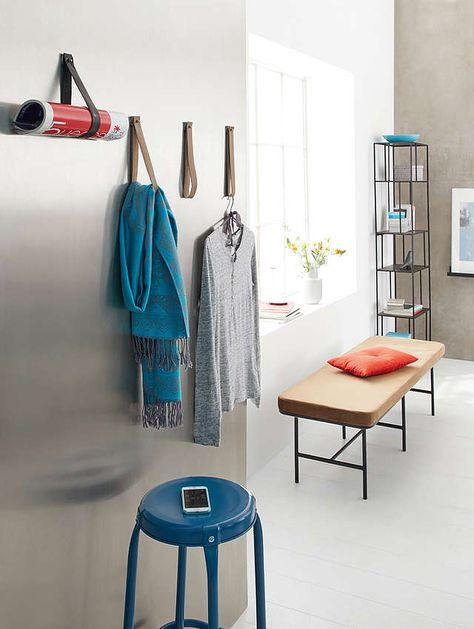 Ob Im Flur Oder Im Schlafzimmer Diese Platzsparende Garderobe Aus