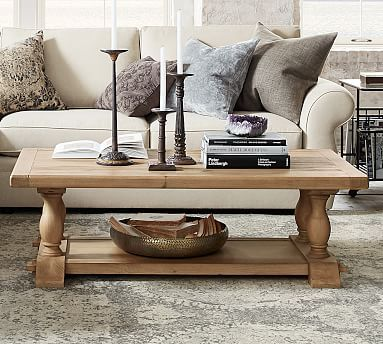 Parkmore Reclaimed Wood Coffee Table Reclaimed Wood Coffee