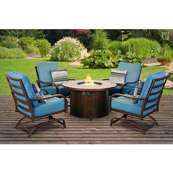 Sensational Berkley Jensen St John 5 Pc Fire Chat Set Google Search Cjindustries Chair Design For Home Cjindustriesco